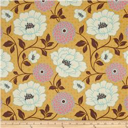 Joel Dewberry Bungalow Home Decor Sateen Dahlia Honey
