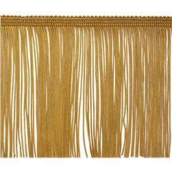 4'' Chainette Fringe Trim Gold