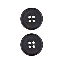 Dill Buttons 3/4'' Polyamid Button Black