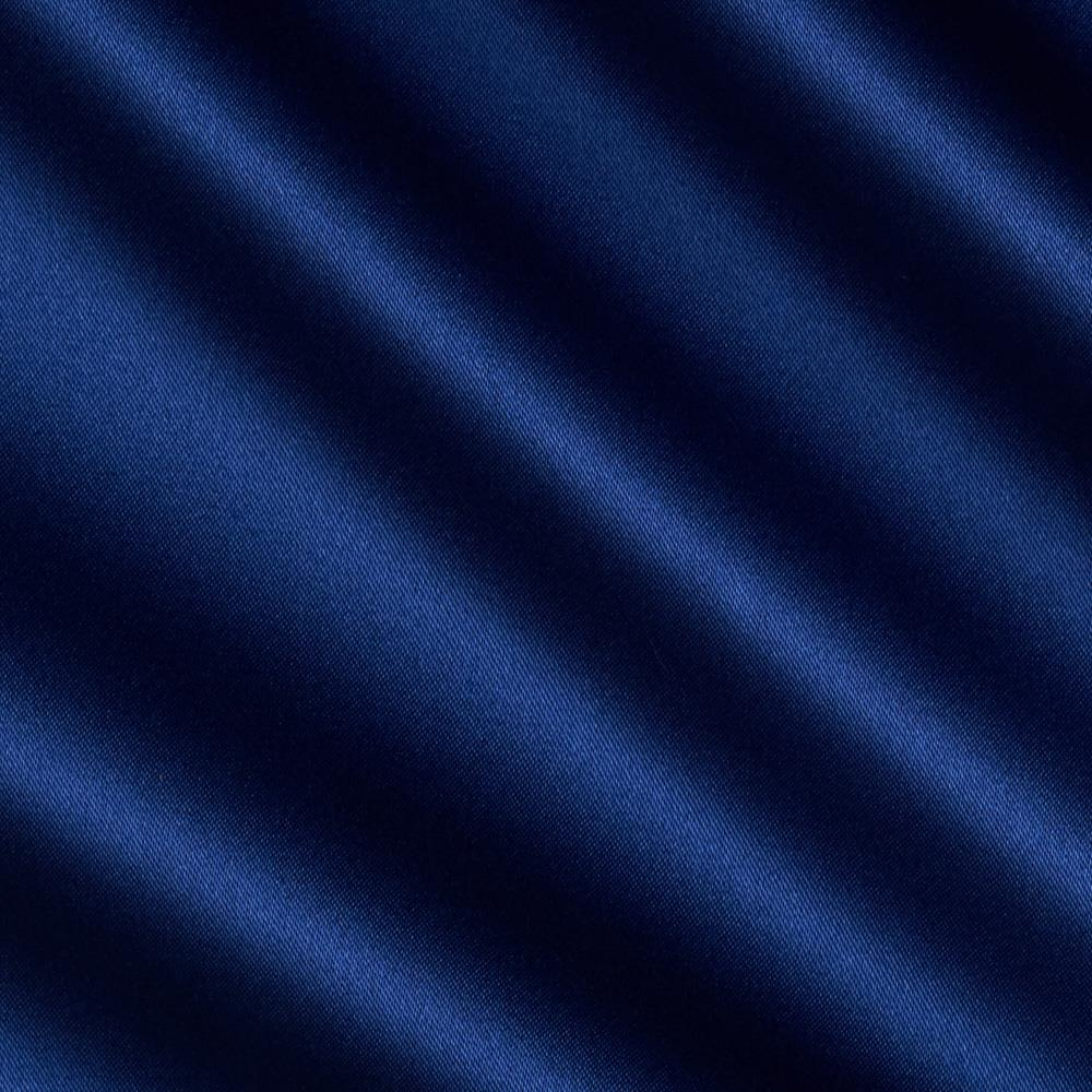 Debutante Stretch Satin Fabric Royal