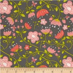 It's A Bird's Life Floral Iron Fabric