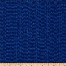 Meridian Mini Herringbone Navy