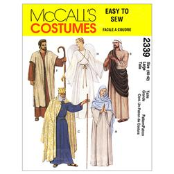 McCall's Christmas Robe Costumes Pattern M2339 Size LRG