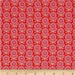 Riley Blake Vienna Floral Red