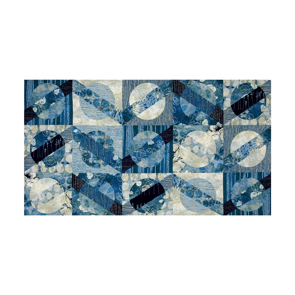 Moon Shadows Shadow 24 In. Panel Blue
