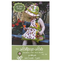 Lila Tueller Lollipop Lola Sundress Pattern