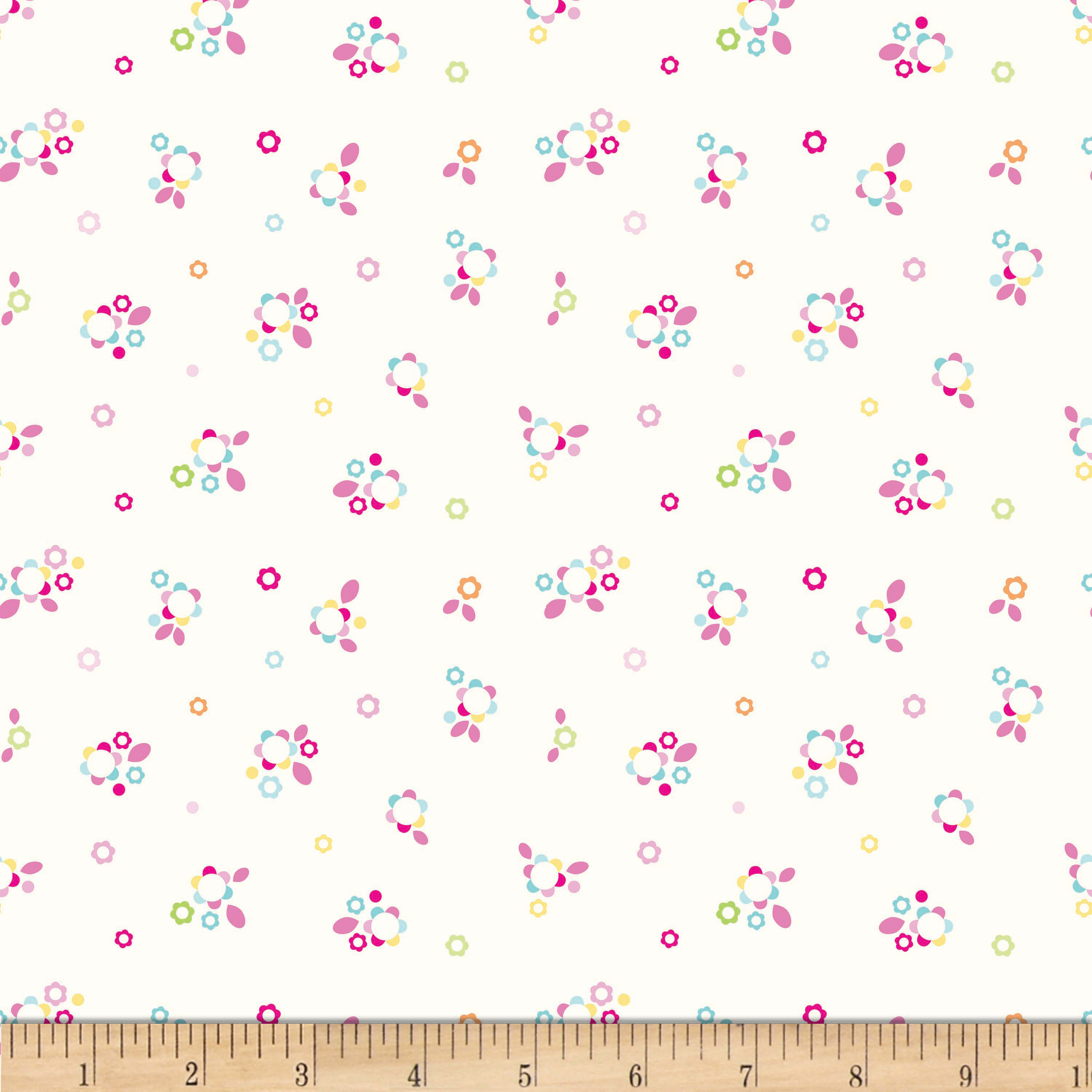 Riley Blake Sweet Home Petals Multi Fabric