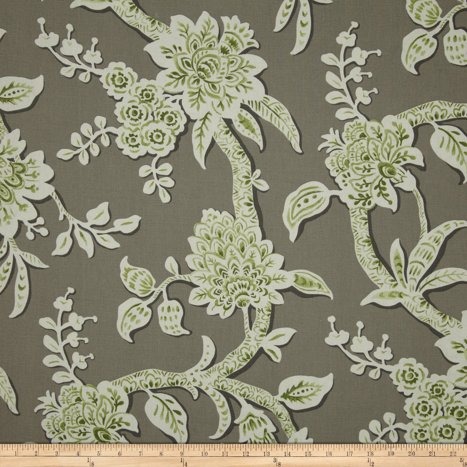 Magnolia Home Fashions Brookhaven Floral Granite Fabric