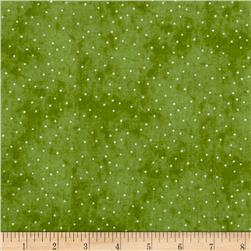 Just Be Claus Itty Bitty Dots Green