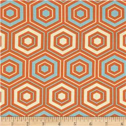 Bella Hexagons Orange
