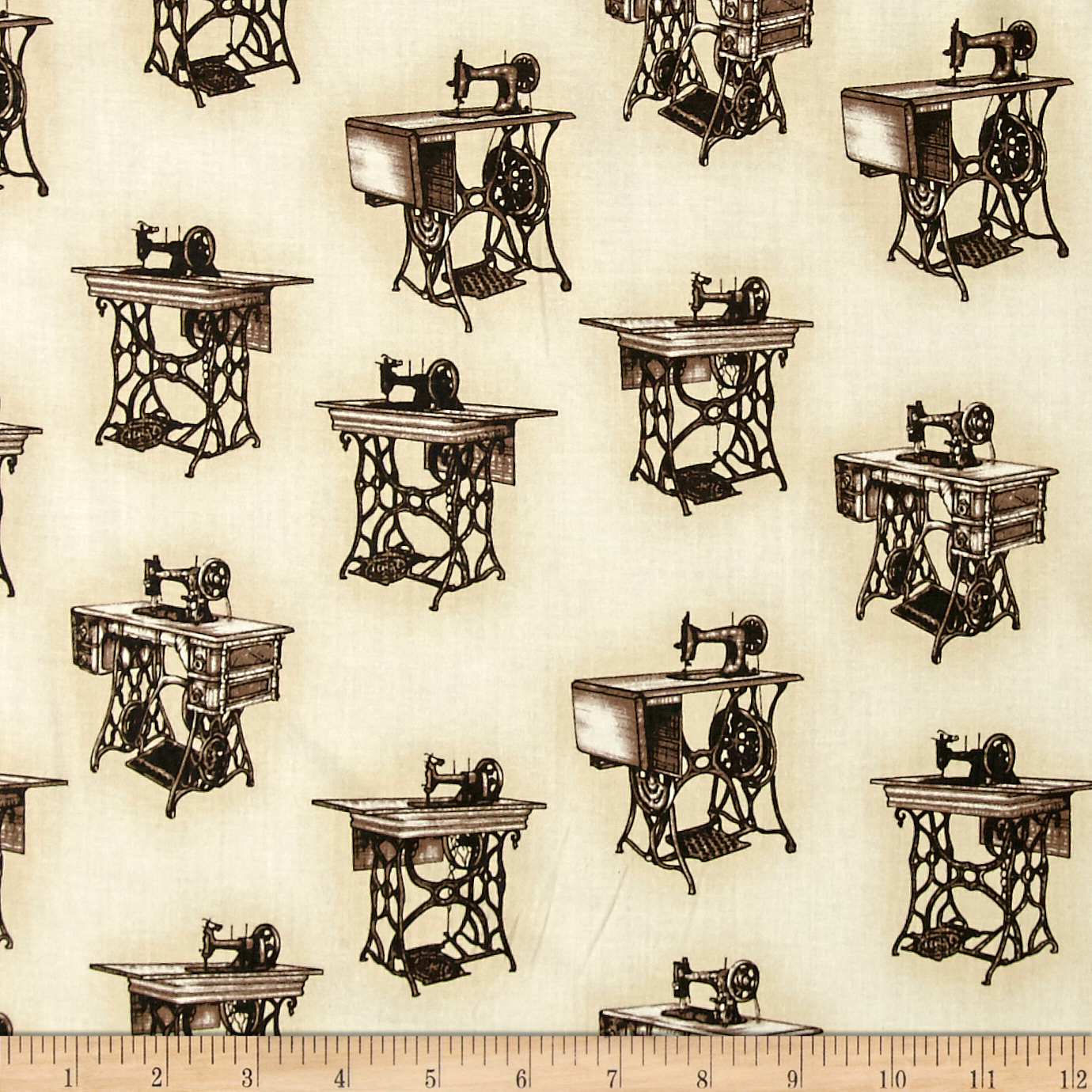 Kaufman Sewing With Singer Treadle Machines Antique Fabric
