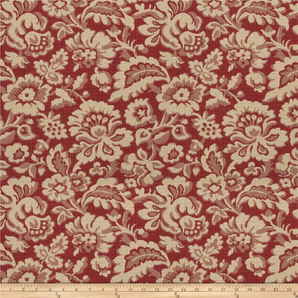 Fabricut Marraqueta Antique Red