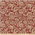 Fabricut Marraqueta Basketweave Antique Red