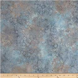 Artisan Batiks Emily's Eyelet Small Flowers Powder Fabric