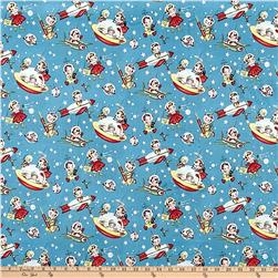 Michael Miller Minky Retro Rocket Rascals Retro Rocket Rascals Multi