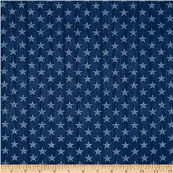 Heritage Small Stars Blue