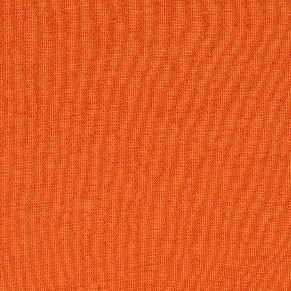 Cotton Lycra Jersey Knit Dark Orange Fabric