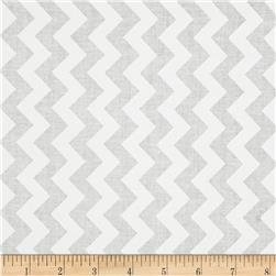 Riley Blake White on White Small Chevron