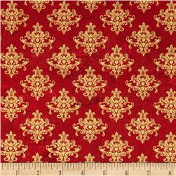 Changing Seasons Mini Motifs Gold/Red