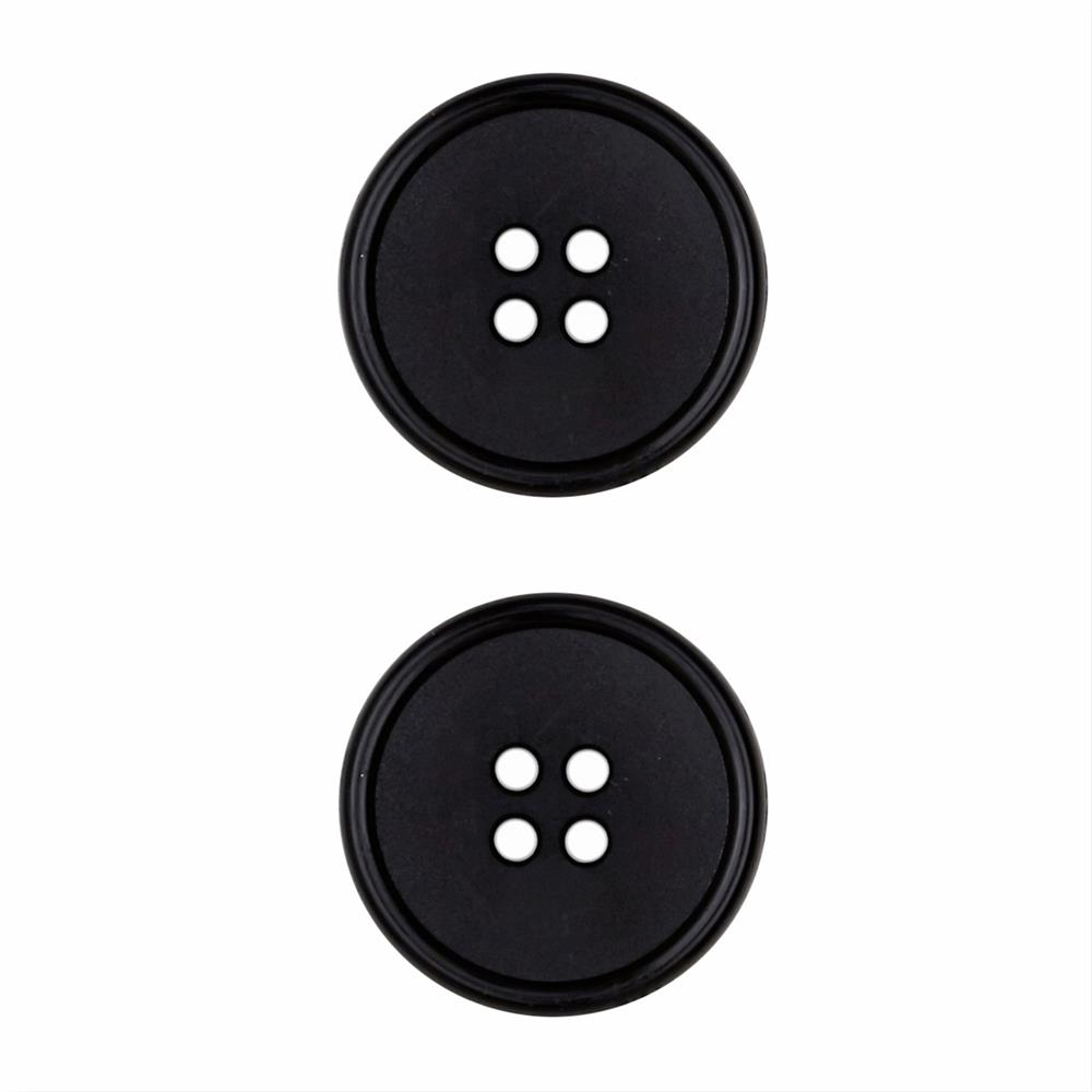 Dill Buttons 1'' Polyamid Button Black