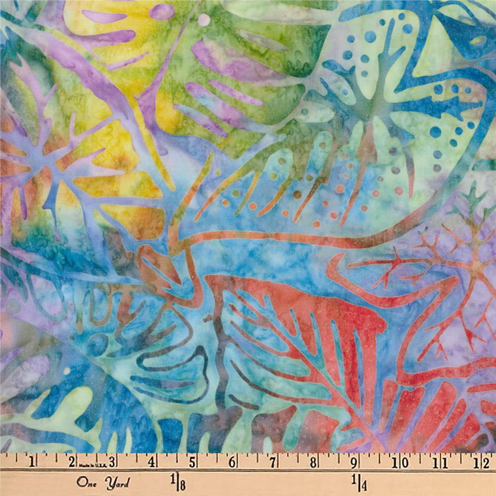Artisan Batiks Totally Tropical Fern Leaves Tropical