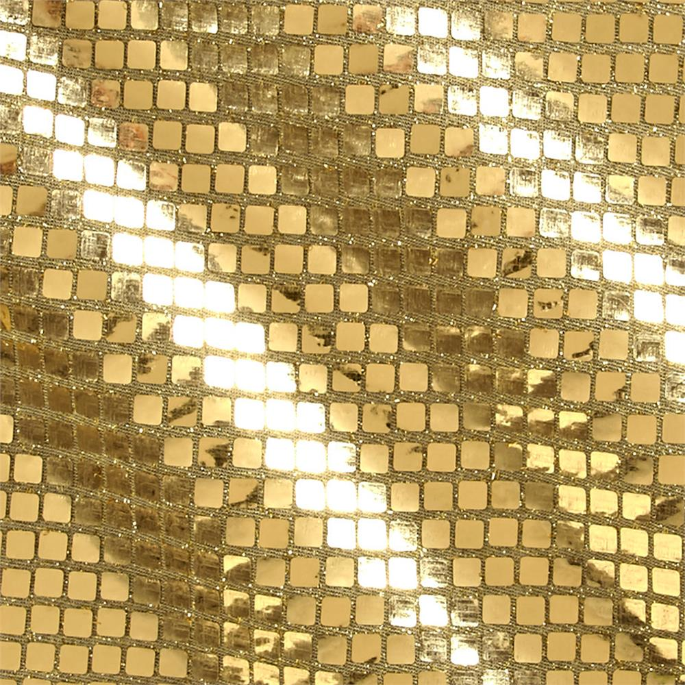 Quad Sequin Gold