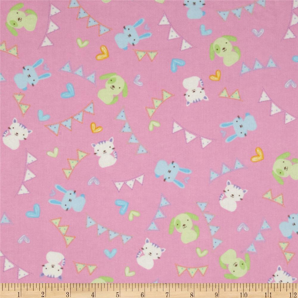 Welcome baby flannel discount designer fabric for Wholesale childrens fabric