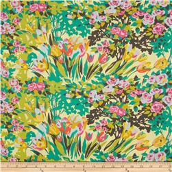 Amy Butler Violette Meadow Blooms Butter