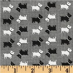 Aunt Grace Miniatures Small Scottie Dog Navy