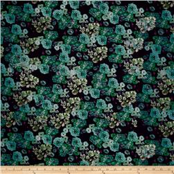 Garden Grove Digitally Printed Rayon Challis