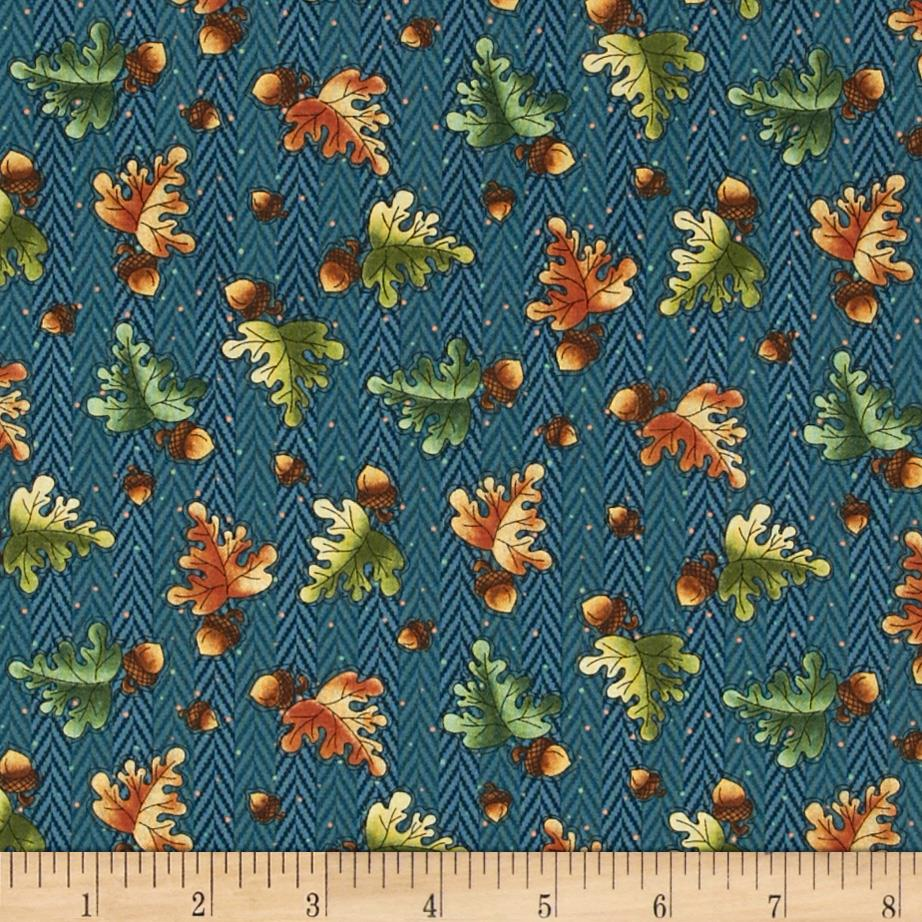 Clearwater Critters Acorns Teal