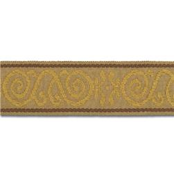 "Mount Vernon 2"" Ornament Trim Gold"
