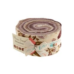 Moda Plum Sweet 2 1/2'' Jelly Roll Assortment