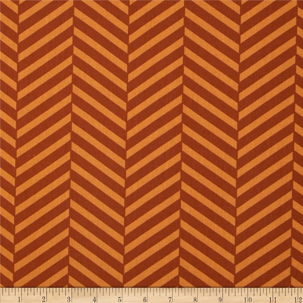 Black & Tan Herringbone Marigold