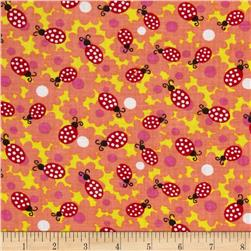 Newcastle Novelties Ladybug Geranium Fabric