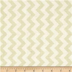 Riley Blake Cream on Cream Small Chevron Fabric