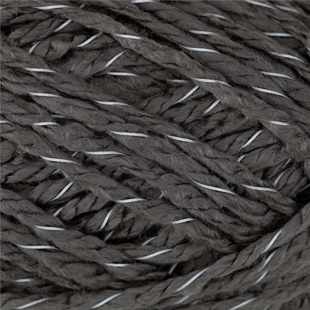 Red Heart Reflective Yarn Grey