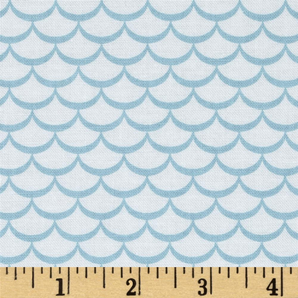 Riley Blake Summer Celebration Summer Waves Blue