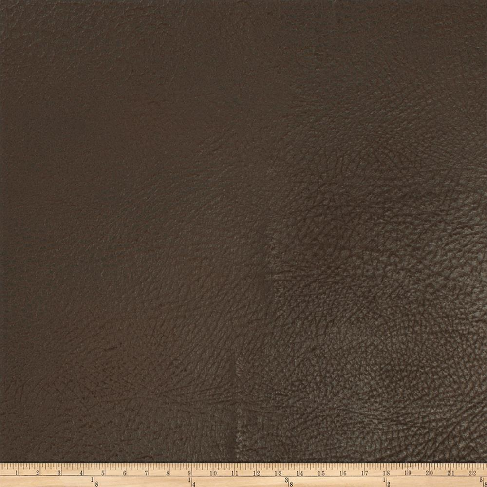 Trend 02805 Faux Leather Hide Black Coffee
