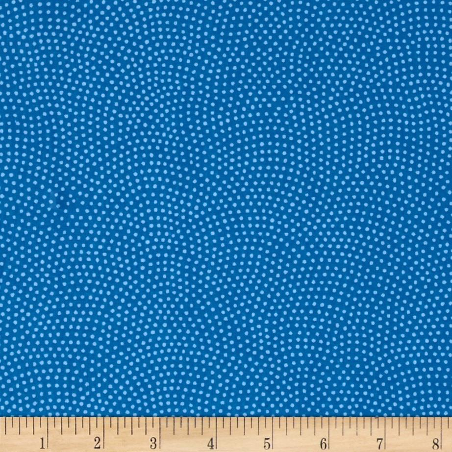 Timeless Treasures Dream Dots Blue