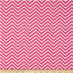 Bright Now Mini Chevron Pink