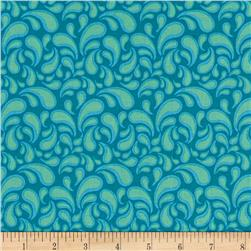 Intrigue Swirl Turquoise
