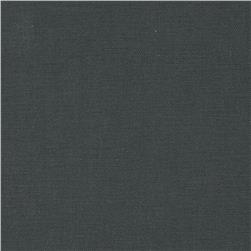 Cotton Blend Twill Charcoal