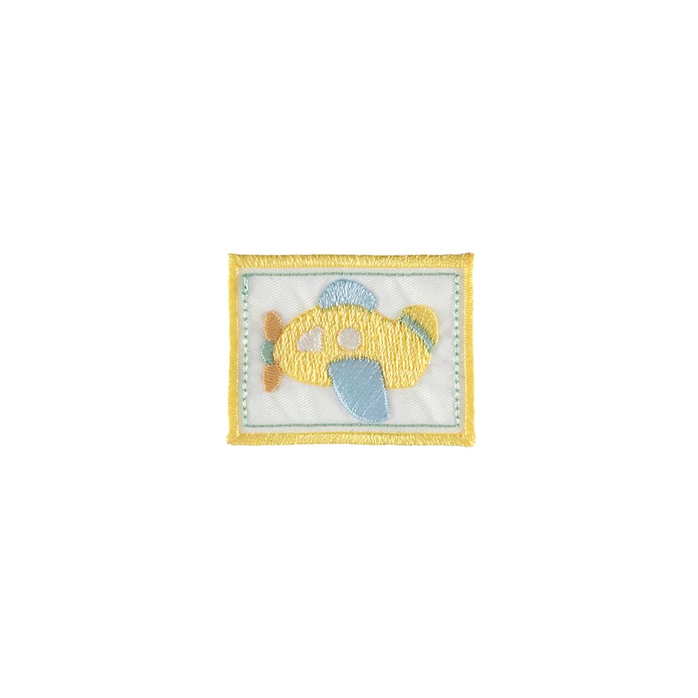 Plane Applique White