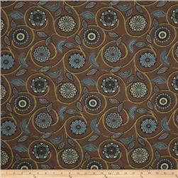 Fabricut Banyon Tree Jacquard Brownstone