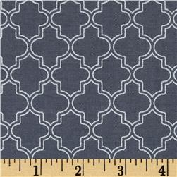 Pearl Essence Quatrefoil Black