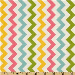Riley Blake Chevron Small Pink/Girl Fabric
