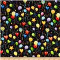 Let's Celebrate Balloons Black