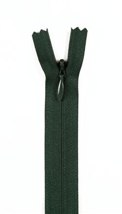 "7/9"" Poly Invisible Zipper Forest Green"