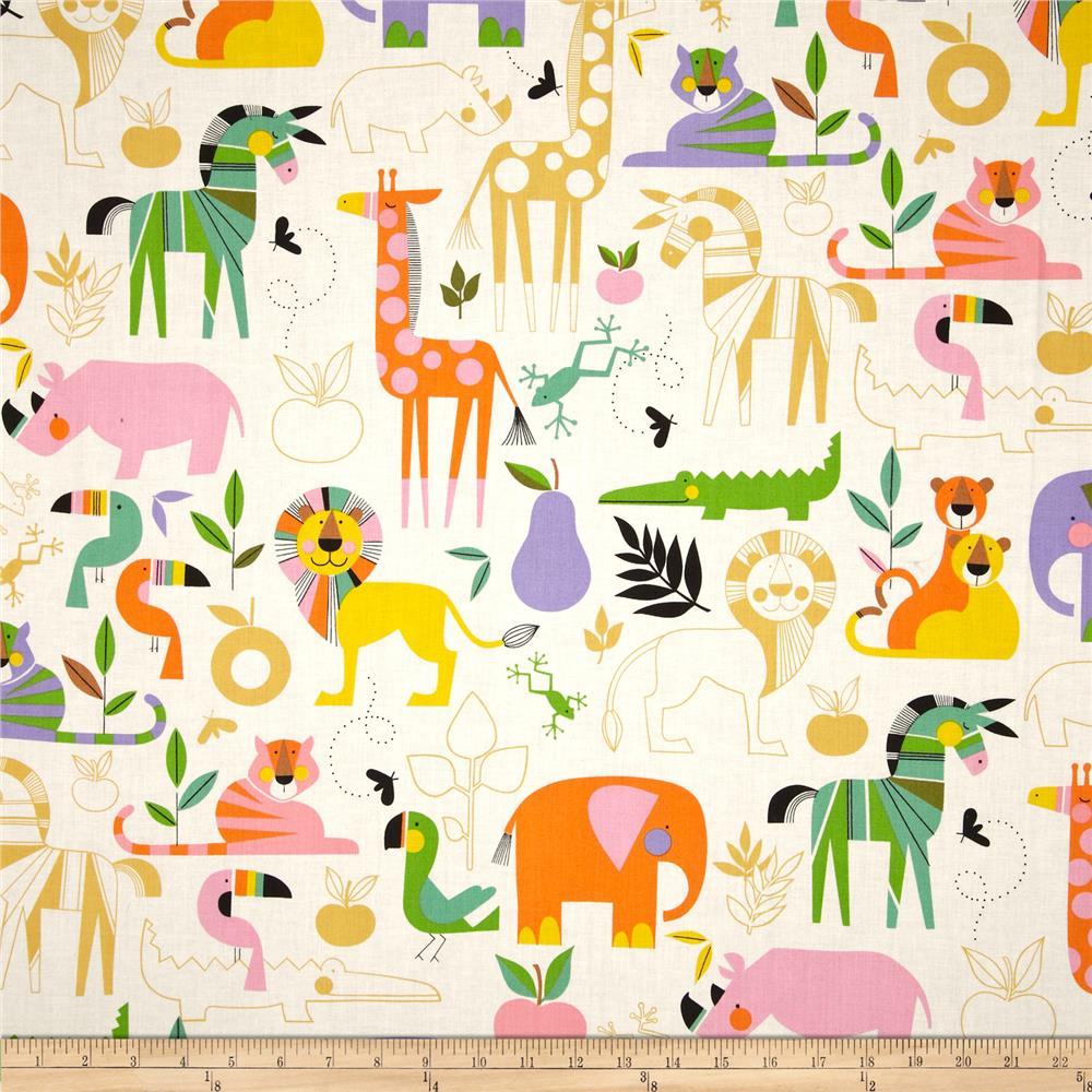 Child fabric discount designer fabric for Childrens jungle print fabric
